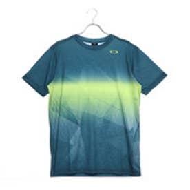 b03348380a388 オークリー OAKLEY メンズ テニス 半袖Tシャツ Enhance Slant Graphic Tee 9.0 457853JP