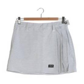オークリー OAKLEY ゴルフショートパンツ Barket Stripe WR Pleats Skirt 591426JP ホワイト (Shadow)