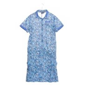 オークリー OAKLEY ゴルフシャツ Barket Rose Thorn One Piece 591424JP ブルー (Blue Print)