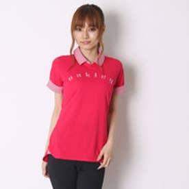 オークリー OAKLEY ゴルフシャツ Barket Layered Crew Shirt 532242JP ピンク (Barberry)