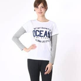 オーシャンパシフィック OCEAN PACIFIC レディース 長袖Tシャツ レディスロングスリーブTEE 556080-A