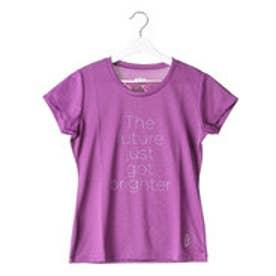 【アウトレット】プリンス Prince レディース テニス 半袖Tシャツ Tシャツ WL6085  (パープル)