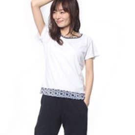 プリンス Prince レディース テニス 半袖Tシャツ ゲ-ムシャツ WL7084
