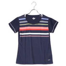 プリンス Prince レディース テニス 半袖Tシャツ ゲ-ムシャツ WL8072