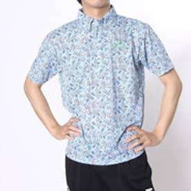 【アウトレット】パラディーゾ PARADISO ゴルフシャツ 16SS PDメンズハンシャツ DSM33A (サックス)
