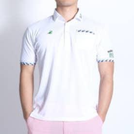 【アウトレット】パラディーゾ PARADISO ゴルフシャツ 16SS PDメンズハンシャツ DSM35A (ホワイト)