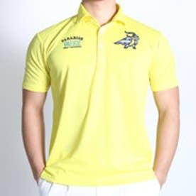 【アウトレット】パラディーゾ PARADISO ゴルフシャツ 16SS PDメンズハンシャツ DSM39A (ペールイエロー)