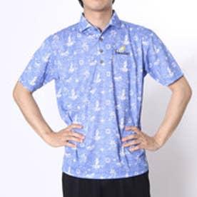 【アウトレット】パラディーゾ PARADISO ゴルフシャツ 16SS PDメンズハンシャツ DSM53A (ロイヤルブルー)