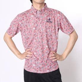 【アウトレット】パラディーゾ PARADISO ゴルフシャツ 16SS PDメンズハンシャツ DSM33A (ペールピンク)