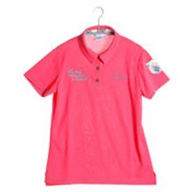 パラディーゾ PARADISO ゴルフシャツ 16SS PDレディスハンシャツ DSL51A (ピンク)