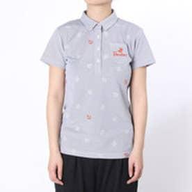 パラディーゾ PARADISO ゴルフシャツ 16SS PDレディスハンシャツ DSL58A (ネイビー)