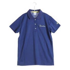 パラディーゾ PARADISO ゴルフシャツ 16SS PDレディスハンシャツ DSL31A (インディゴブルー)