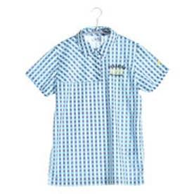 パラディーゾ PARADISO ゴルフシャツ 16SS PDレディスハンシャツ DSL34A (ライトブルー)