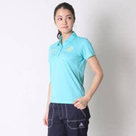 パラディーゾ PARADISO ゴルフシャツ 16SS PDレディスハンシャツ DSL41A (ライトブルー)