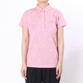 パラディーゾ PARADISO ゴルフシャツ 16SS PDレディスハンシャツ DSL58A (ピンク)