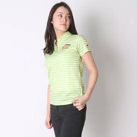 パラディーゾ PARADISO ゴルフシャツ 16SS PDレディスハンシャツ DSL34A (ペールイエロー)