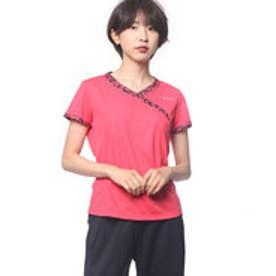 パラディーゾ PARADISO レディース テニス 半袖Tシャツ レディス半袖ゲームシャツ ICL05A