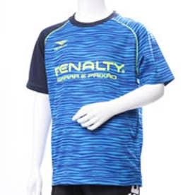 ペナルティ PENALTY ジュニア サッカー/フットサル 半袖シャツ プラクティスシャツJR PU884AP