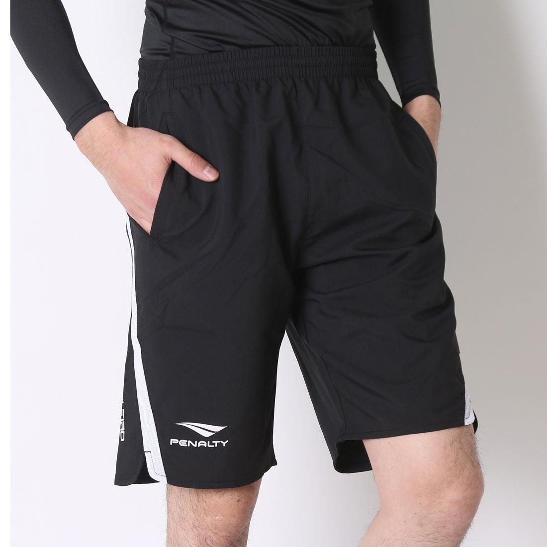 ロコンド 靴とファッションの通販サイトペナルティPENALTYフットサルプラクティスパンツウーブンラインパンツPP6220(ブラック)