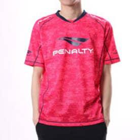 ペナルティ PENALTY ユニセックス サッカー/フットサル 半袖シャツ ベンチレーションプラTシャツ PU7006