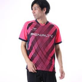 ペナルティ PENALTY ユニセックス サッカー/フットサル 半袖シャツ グラデーションプラトップ PU7008