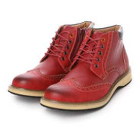 パーソンズジーンズ PERSON'S JEANS ブーツ カジュアルブーツ PJG3588 ブラウン 0080 (レッド)