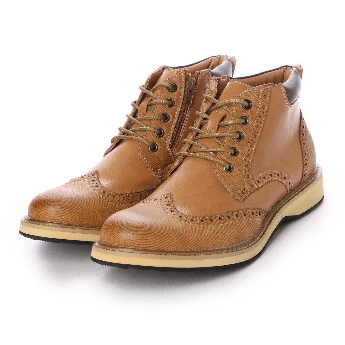 7697b3281548f パーソンズジーンズ PERSON S JEANS ブーツ カジュアルブーツ PJG3588 ブラウン 0079 (ベージュ) ミフト mift -靴&ファッション通販  ロコンド〜自宅で試着、気軽に ...