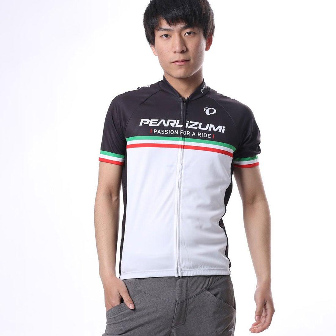 【SALE 30%OFF】パールイズミ PEARL iZUMi メンズ バイシクル サイクルジャージ/ジャケット プリントジャージ 621B-34-M メンズ