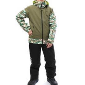 フェニックス PHENIX メンズ スキー ウェア上下セット Camouflage Boy's Two-piece PS7G22P82