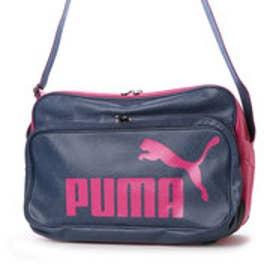 プーマ PUMA エナメルバッグ TS マット ASB タイプ B ショルダー L 072405  701 (ニューネイビー/ピンクグロ)