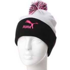 プーマ PUMA ユニセックス ニット帽 フィーメール ポンポン ビーニー 021094