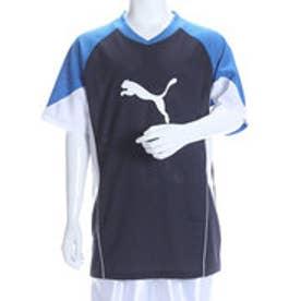 プーマ PUMA ジュニアサッカープラクティスシャツ ジュニアハンソデプラクティスシャツ AP 654965 ネイビー  (NEW NAVY-PUMA ROYAL)