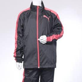 プーマ PUMA ジュニア ウインドジャケット GL ウーブン ジャケット 920840 (ブラック)