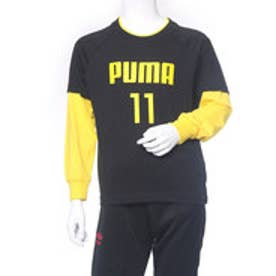 プーマ PUMA ジュニア 長袖Tシャツ レイヤード LS Tシャツ 594289