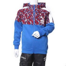 プーマ PUMA ジュニア スウェットパーカー AOP フーデッドスウェットジャケット 594682 (ブルー)