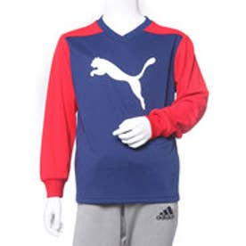 プーマ PUMA ジュニア 長袖機能Tシャツ LS Tシャツ 594291 (ネイビー)