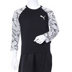 プーマ PUMA ジュニア 長袖Tシャツ Style AOP ラグラン LS Tシャツ 852183