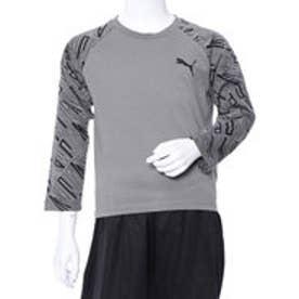 プーマ PUMA ジュニア 長袖 Tシャツ Style AOP ラグラン LS Tシャツ 852183