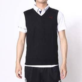 プーマ PUMA ゴルフベスト ソリッドニットベスト 923166     ブラック (ブラック)