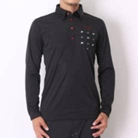 プーマ PUMA ゴルフシャツ LS ポロ 923268     ブラック (ブラック)