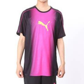 プーマ PUMA サッカープラクティスシャツ IT EVOトリックスG キャットグラフィックトレーニンク 654843  (BLACK-PINK GLO)