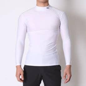 プーマ PUMA サッカー長袖インナーシャツ COMPRESSION モックネック LS シャツ 920480  (WHITE-BLACK)