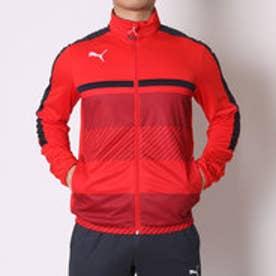 プーマ PUMA サッカーウォームアップジャケット TWV トレーニングジャケット 654802 レッド  (PUMA RED)