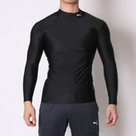 プーマ PUMA メンズ サッカー/フットサル 長袖インナーシャツ COMPRESSION モックネック LS シャツ 920480