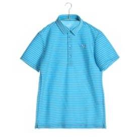 【アウトレット】プーマ PUMA ゴルフシャツ ゴルフ SS ワイドカラー ポロシャツ 923317 ブルー (アトミック ブルー)