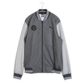 プーマ PUMA ゴルフトレーナー ゴルフ スウェットブルゾン 923309 ブラック (ブラック)
