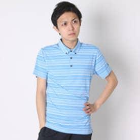 【アウトレット】プーマ PUMA ゴルフシャツ ゴルフ SS テーラード ストライプ ポロシャツ 571576 ブルー (フレンチ ブルー)