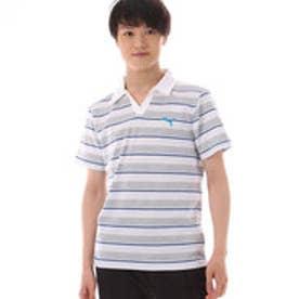 プーマ PUMA メンズ 半袖ポロシャツ ボーダースキッパー 591885