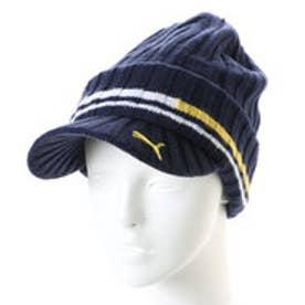 プーマ PUMA メンズ ゴルフ ニット帽子 ゴルフ ブリムビーニー 866438 1801