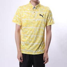 プーマ PUMA メンズ ゴルフ 半袖 シャツ ウォーターストライプSS ポロシャツ 923702
